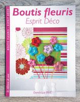 NEUF - Livre Boutis fleuris, esprit déco