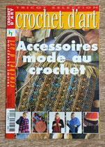 Magazine Tricot sélection - Crochet d'art HS accessoires