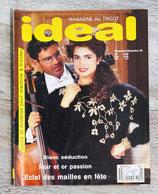 Magazine Idéal tricot - Nov.-Décembre 1989