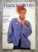 Magazine France Tricots 71 - Printemps-Eté