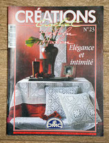Magazine Créations crochet 23 - Elégance et intimité