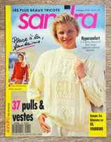 Magazine tricot Sandra 79 - Février 1991
