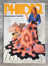 Magazine Phildar Décoration & loisirs n°4 (Vintage)
