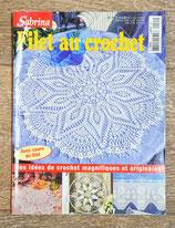 Magazine Sabrina crochet 15 - Filet au crochet