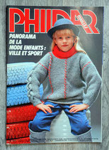 Magazine Phildar mailles n°101 - Enfants (Vintage)