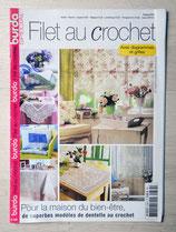 Magazine Burda spécial E735 - Filet au crochet
