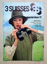 Mini magazine tricot 3 Suisses hiver 77