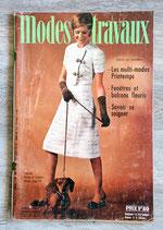 Magazine Modes & Travaux n°844 - Avril 1971 (Vintage)