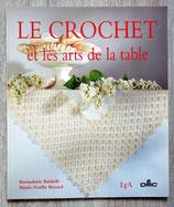 Livre Le crochet et les arts de la table