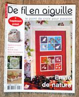 Magazine De fil en aiguille 37 - Envie de nature
