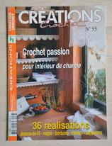 Magazine Créations crochet 33 - Crochet passion pour intérieur de charme
