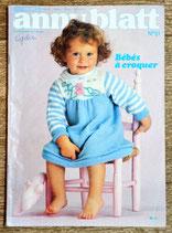 Magazine tricot Anny Blatt 51 - Bébés à croquer