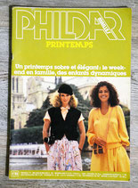 Magazine Phildar mailles 65 - Printemps