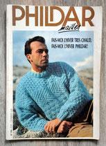Magazine Phildar mailles n°194 - Spécial homme / hiver