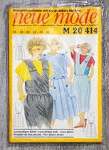 Patron Neue Mode M20 414 - Ensemble dame (Vintage)