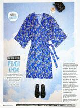 Patron de couture Modes & Travaux - Peignoir kimono pour femme
