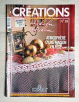 Magazine Créations crochet 18 - Atmosphère d'une maison en fête