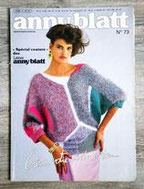 Magazine Tricot Anny Blatt n°73 - Spécial couture