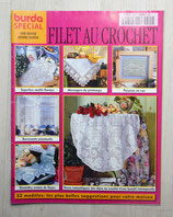 Magazine Burda spécial E521 - Filet au crochet