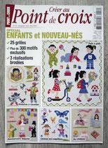 Magazine Créer au point de croix - Spécial enfants