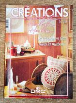 Magazine Créations crochet 20 - Le crochet en fête dans la maison