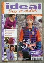 Magazine IDEAL Déco et création n°5 (tricot)