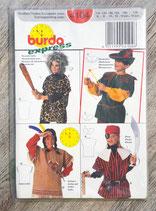 Pochette patron Burda n°4104 - 4 déguisements enfant