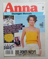 Magazine Anna Burda ouvrages manuels 6/1987