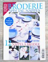 Magazine Idées Hors série - Broderies spécial nappes