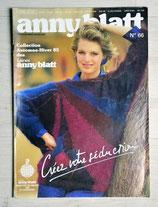 Magazine tricot Anny Blatt 66 - Automne-hiver