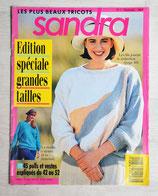 Magazine tricot Sandra 1 Spécial grandes tailles