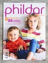 Magazine Phildar n°105 enfants - Printemps-été 2014