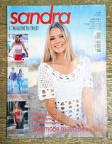 Magazine tricot Sandra 212 - Juin 2002
