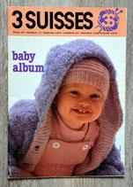 Magazine tricot 3 Suisses - Baby album - NL (Vintage)