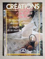 Magazine Créations crochet 25 - Le crochet détente, le buffet de la mariée