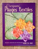 Livre L'origami, pliages textiles
