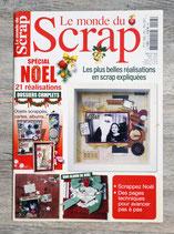 Magazine Le monde du scrap n°13 - Spécial Noël