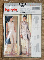 Pochette patron Burda 2969 - Ensemble femme