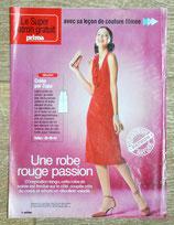 Patron de couture Prima 230 - Robe à col jabot