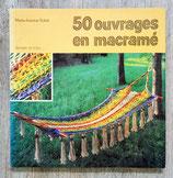 Livre 50 ouvrages en macramé
