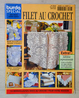 Magazine Burda spécial E533 - Filet au crochet