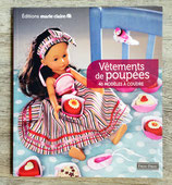 NEUF - Livre Vêtements de poupées - 40 modèles à coudre