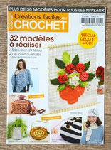 Magazine Créations faciles au crochet janvier-février-mars 2011