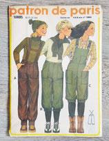 Pochette patron de Paris 10885 - Pantalon à bretelle enfant (Vintage)