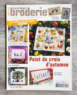Magazine Ouvrages broderie n°54 - Point de croix d'automne