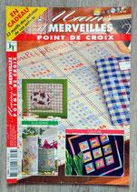 Magazine Mains et Merveilles point de croix 44