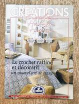 Magazine Créations crochet 32 - Le crochet raffiné et décoratif