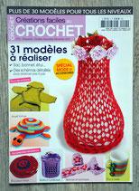 Magazine Créations faciles au crochet n°4 - 31 modèles