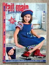 Magazine Fait Main tricot spécial bambino (E039)