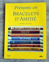 Livre Prénoms en bracelets d'amitié